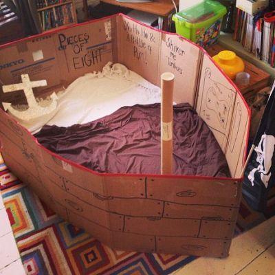 Best 25+ Cardboard pirate ships