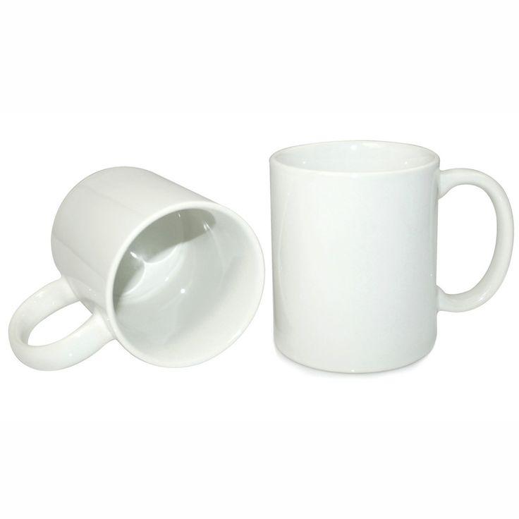 11oz White Coated Mug-Grade A
