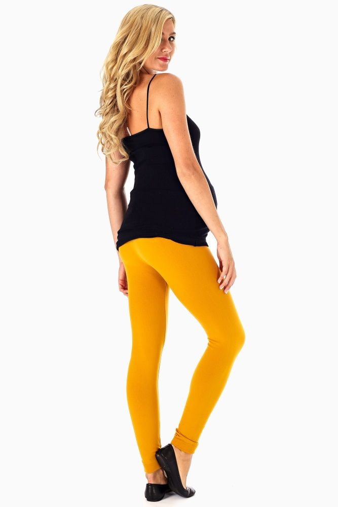 Mustard-Yellow-Leggings