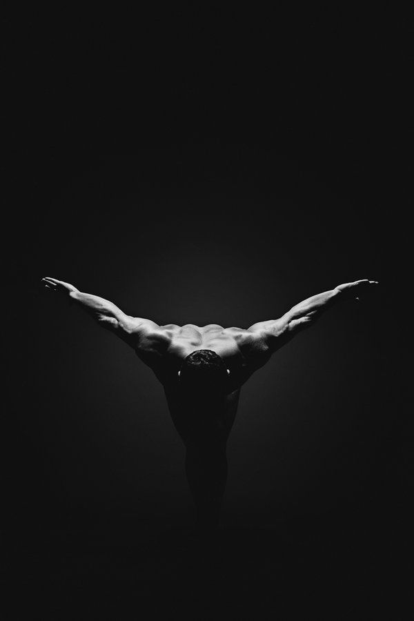 Male Nude Black And White 92