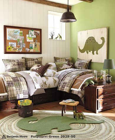 .: Dinosaurs Bedrooms, Beds, Boys Bedrooms, Boys Rooms, Big Boys, Pottery Barns Kids, Bedrooms Ideas, Kids Rooms, Dinosaurs Rooms