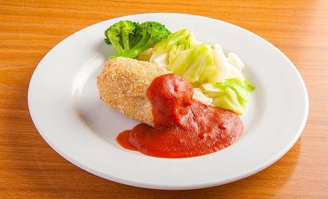 手づくりコロッケ岡山市の食堂・中華そばやカツ丼を食べるなら 食堂やまと