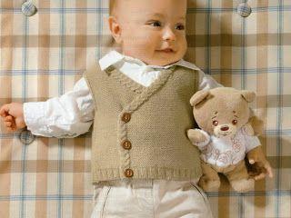 Hamaratablam: Erkek Bebek Yeleği Modeli