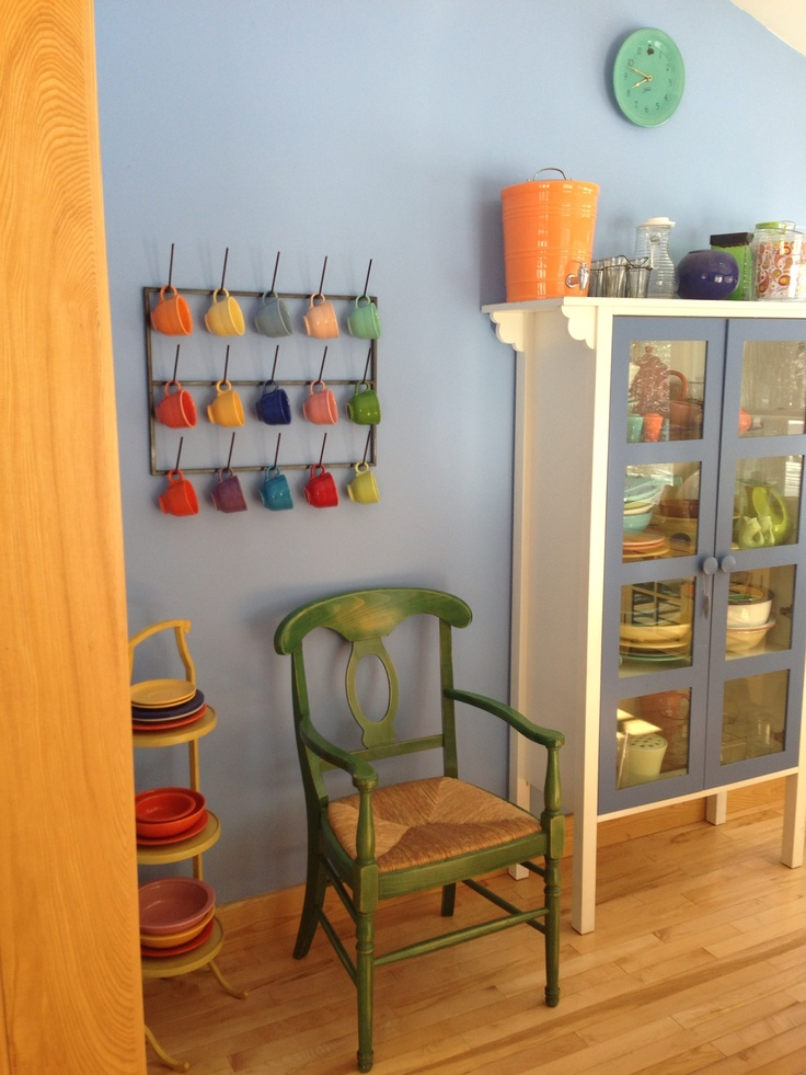 Great Display Storage For Fiestaware Home Decor