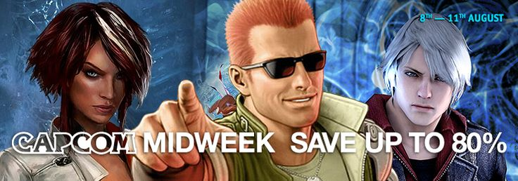 [GamersGate] Capcom Midweek (8-11 August) | Remember Me ($6/80% off) Street Fighter X Tekken ($7.49/75% off) Dead Rising 2 ($5.99/70% off) Dead Rising 2:Off The Record ($6/70% off) Dead Rising 3 Apocalypse Edition ($15/70% off) Mega Man Legacy Collection ($8.99/40% off) and more | Mostly Steam