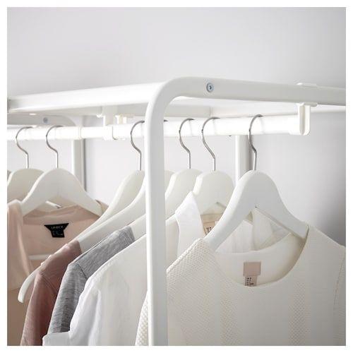 ALGOT Frame/mesh baskets/rod for frames white IKEA in