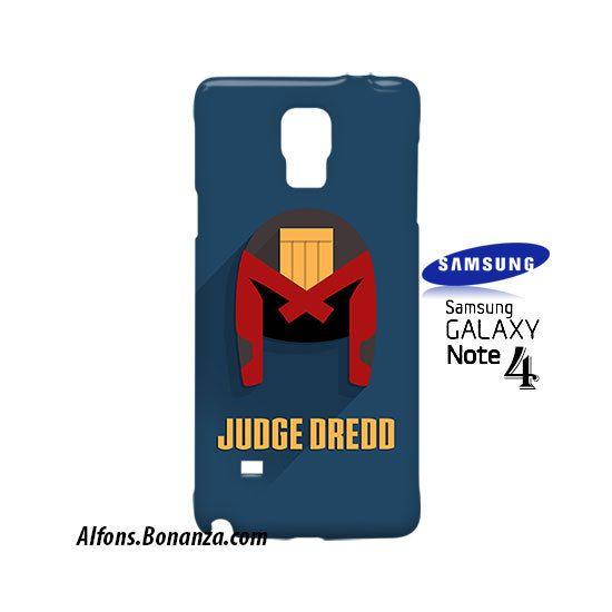 Judge Dredd Superhero Samsung Galaxy Note 4 Case