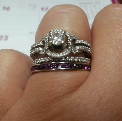 like the band with ur hubby's birthstone idea...think i would like ...