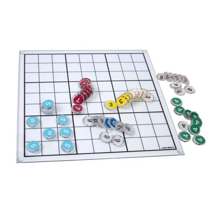 Sudoku de cristal.  http://www.cosaspararegalar.es/ideas-para-regalar/juegos-de-mesa/juego-sudoku.html