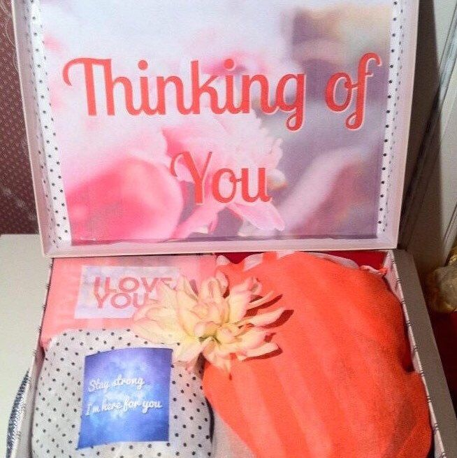 Are you missing a #friend? Let them know your thinking of them with a #thinkingofyou #youarebeautifulbox #carepackage 💕