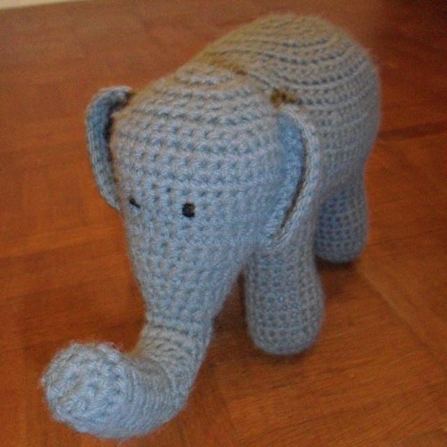 Hand Crocheted Elephant £13.50