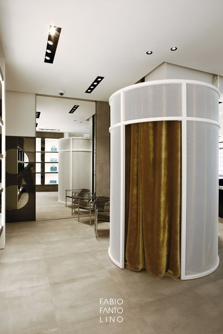 De Wan - Fabio Fantolino Architect; Fitting room design; retail design