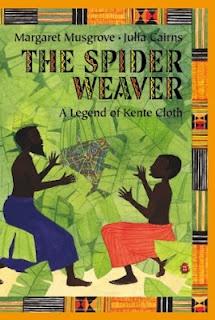 Spider Weaver~Kente cloth legend