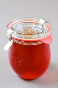 Quince Jelly with great advice from Chocolate and Zucchini. Quince jelly is hands down my favourite jelly