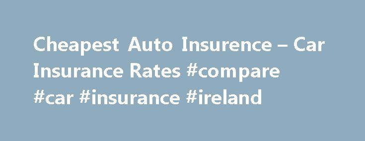 Irish car insurance price increase