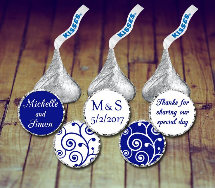 A personal favorite from my Etsy shop https://www.etsy.com/ca/listing/496662396/hershey-kisses-stickers-wedding-stickers