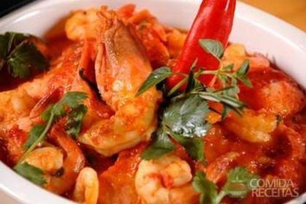 Receita de Guizo de pescado com lagostine - Comida e Receitas