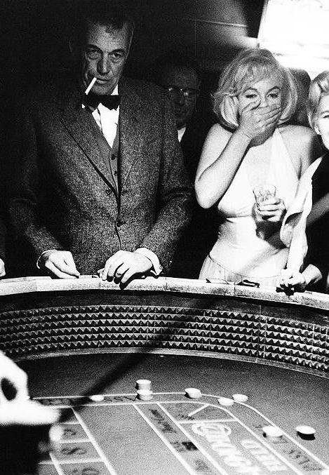 "cinemarhplus: ""Marilyn Monroe and John Huston by Eve Arnold """