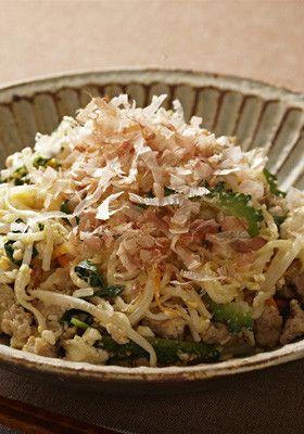 野菜たっぷりひやむぎチャンプルー by おいしいコープ [クックパッド ...