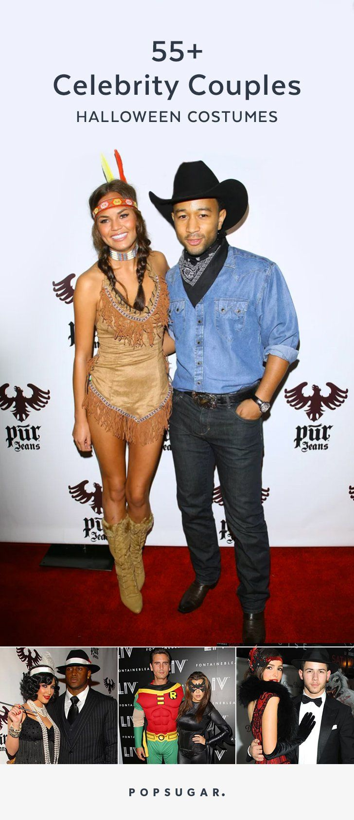 Pin for Later: 70+ Celebrity Couples Halloween Costumes