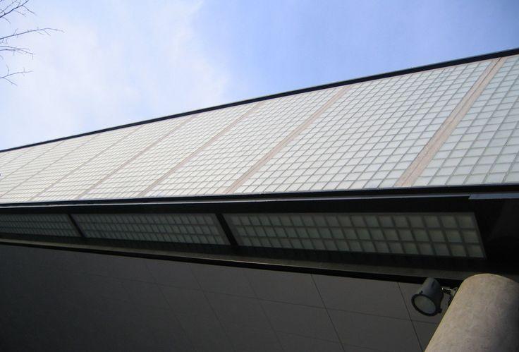Voorbeelden van Glazen bouwstenen   Glastegels   Bouwglas
