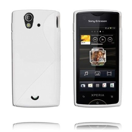 S-Line (Hvid) Sony Ericsson Xperia Ray Cover