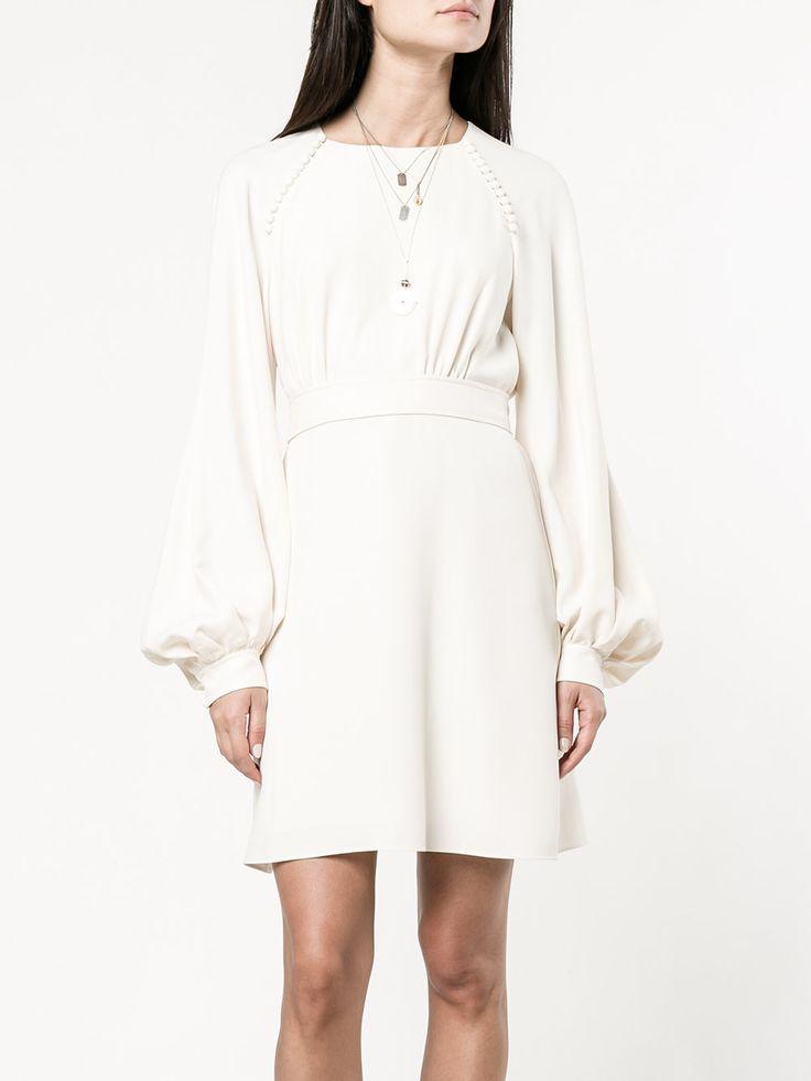 Chloé Платье с Рукавами-колоколами и Пуговицами 74319.07 - Купить в Интернет Магазине в Москве | Цены, Фото.