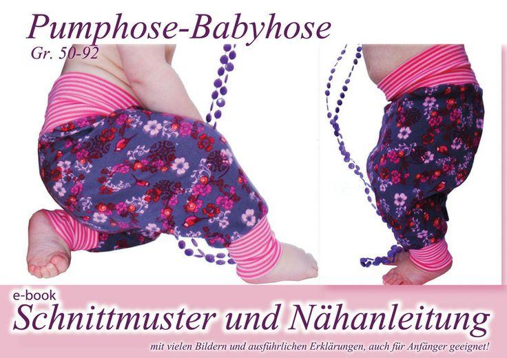 Nähanleitung / Schnitt Pumphose von selbermacher auf DaWanda.com