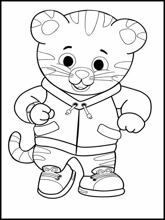 Printable Coloring Pages For Kids Daniel Tiger 10