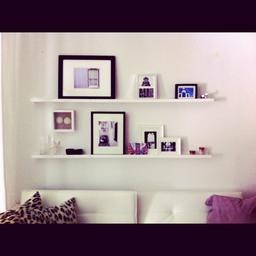 i used ikeau0027s ribba picture ledge to create this display in my apartment love how