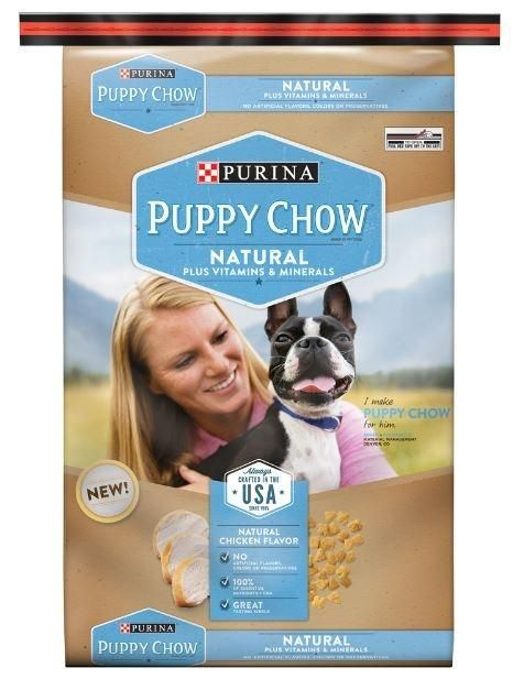Purina Puppy Chow Natural Chicken Plus Vitamins and Minerals Dry Puppy Food