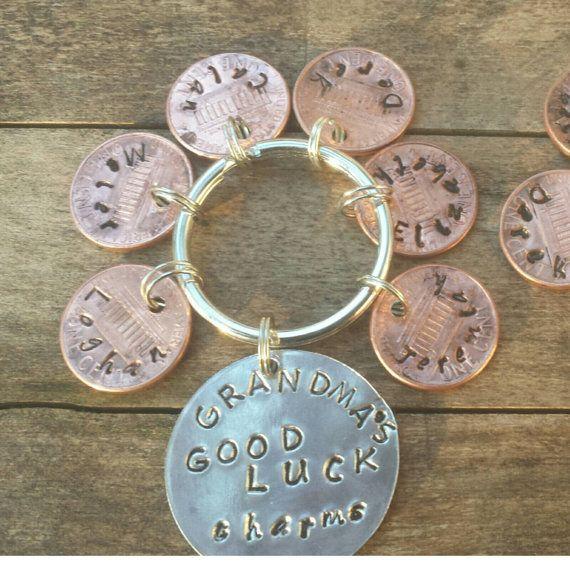 grandma Keychain grandma gift grandparents day by TiffanyTwists
