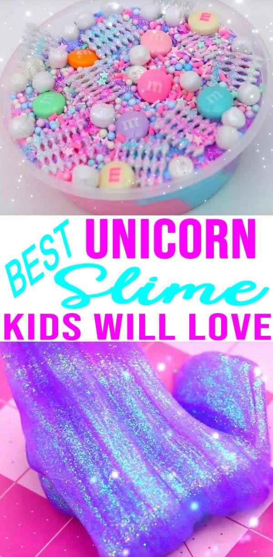 982bcf6dea0a BEST Unicorn Slime Recipes! Easy Slime Ideas – DIY – How To Make ...