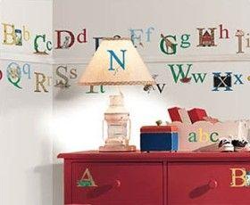 Viac Ako  Najlepších Nápadov Na Pintereste Na Tému Alphabet Wall - Vinyl wall decals alphabet
