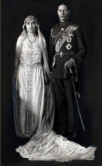 King George V1th wedding to Elizabeth in 1923.