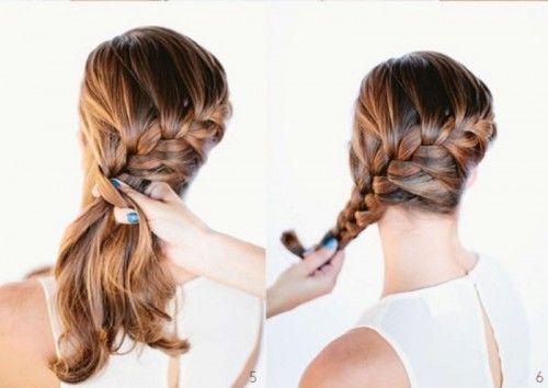 DIY Beautiful French Braid Bun Hair For Your Wedding Look   Weddingomania