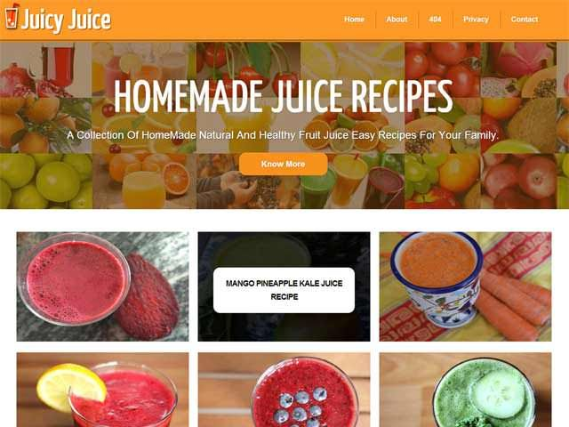 """A 100% Free Premium Blogger Template Named As """"JuciyJuice"""". A Free Grid Style Post, Responsive And Mobile Layout Coding With Full Of SEO And SMO Codes And Also With A Better User Interference And Design On Basis Of Recipes And Health Tips With A Lot Of Plugin And Important Codes Added.  Article: www.exeideas.com/2014/04/JuciyJuice-free-premium-responsive-blogger-template.html Tags: #Template #Blogger #Blogspot #BlogTemplate #BloggerTemplate #ResponsiveTemplate #MobileTemplate…"""