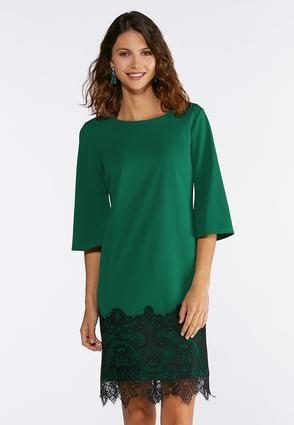 7e00e6a25fd Cato Fashions Lace Hem Dress  CatoConfident