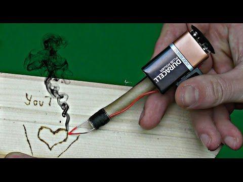 Mini Pyrography Tool - YouTube