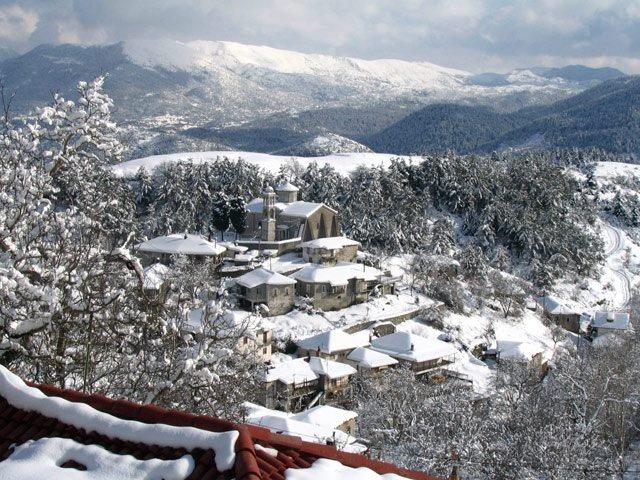 Vytina in Arcadia (Peloponnese) #Greece