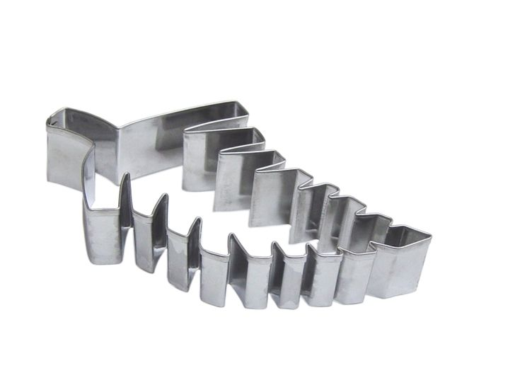 Stainless steel cutter.