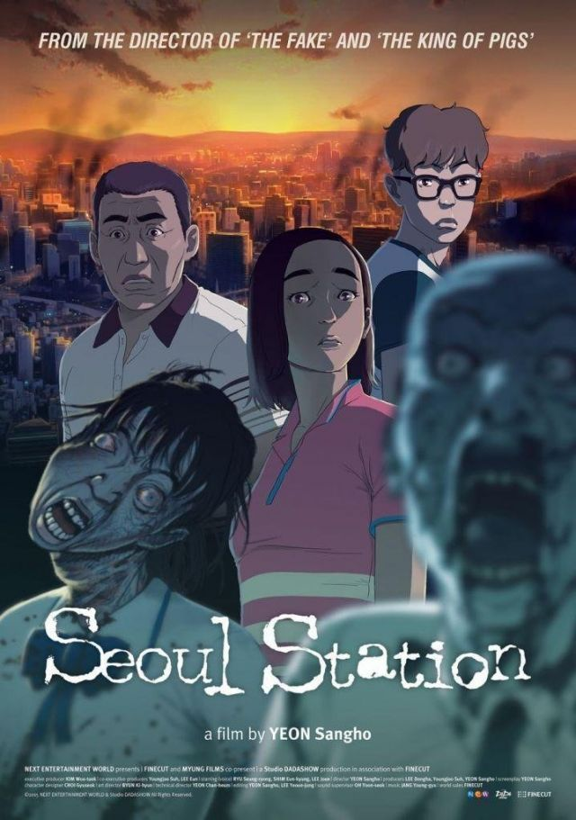"[Photos] Added English poster and new stills for the upcoming Korean animated movie ""Seoul Station"""