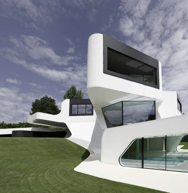 Dupli Casa House Near Ludwigsburg Germany By J Mayer Architectural Design House Plans Futuristic Home Modern Architecture