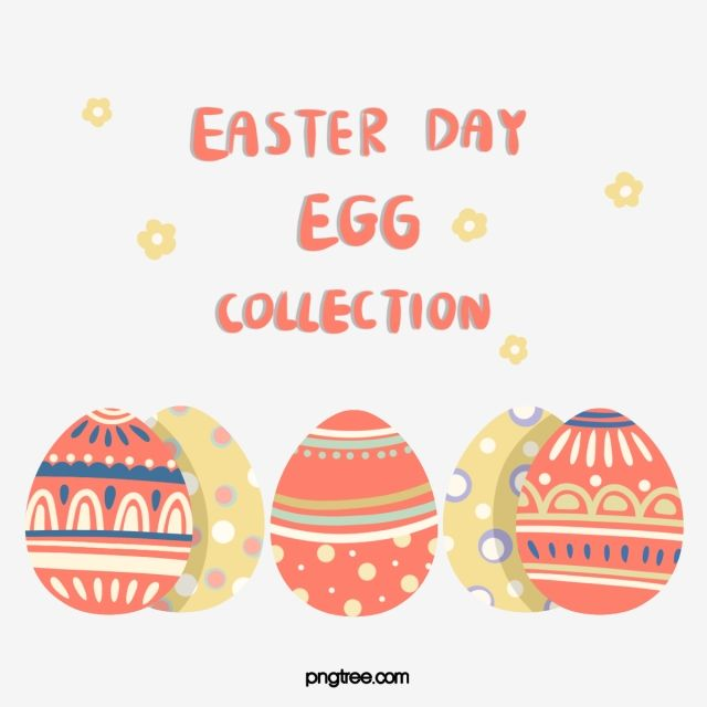 Red Easter Egg Element Png And Psd Easter Eggs Easter Graphics Easter Clipart