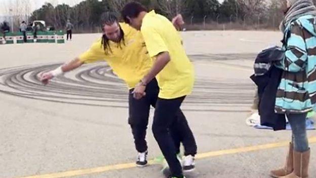 Neymar fue humillado con huacha del campeón mundial de fútbol freestyle (VIDEO)