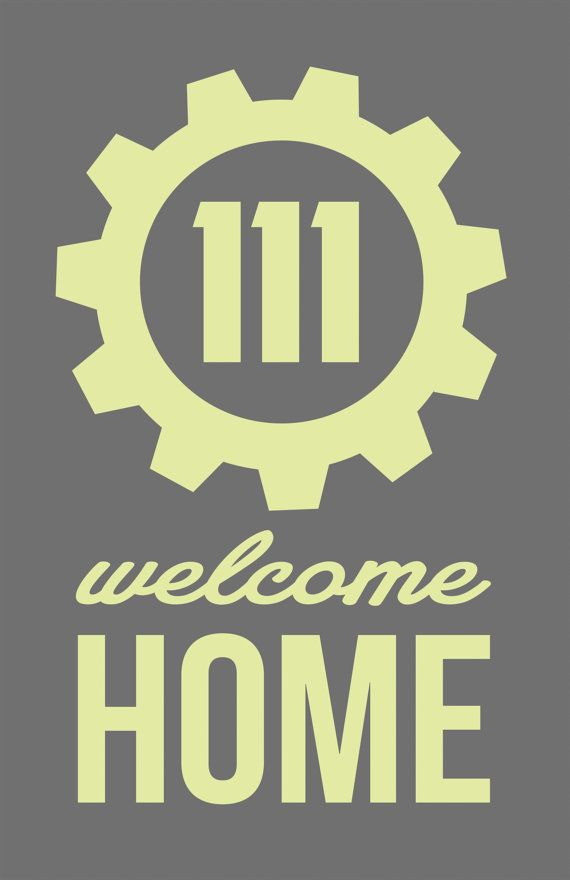 This original print is the perpetual slogan for the Fallout games paired with the vault of the newest release. Welcome home to Vault 111.   ABOUT THIS PIECE::. This is an original print measuring 12 x 18 inches (30½cm x 45¾cm). Frame not included.  DETAILS::. All prints are professionally processed with vivid high quality ink on heavy matte paper. Prints are lined with a one inch white border. Some prints may be available in other sizes. Please message to inquire. Please note that colors may…