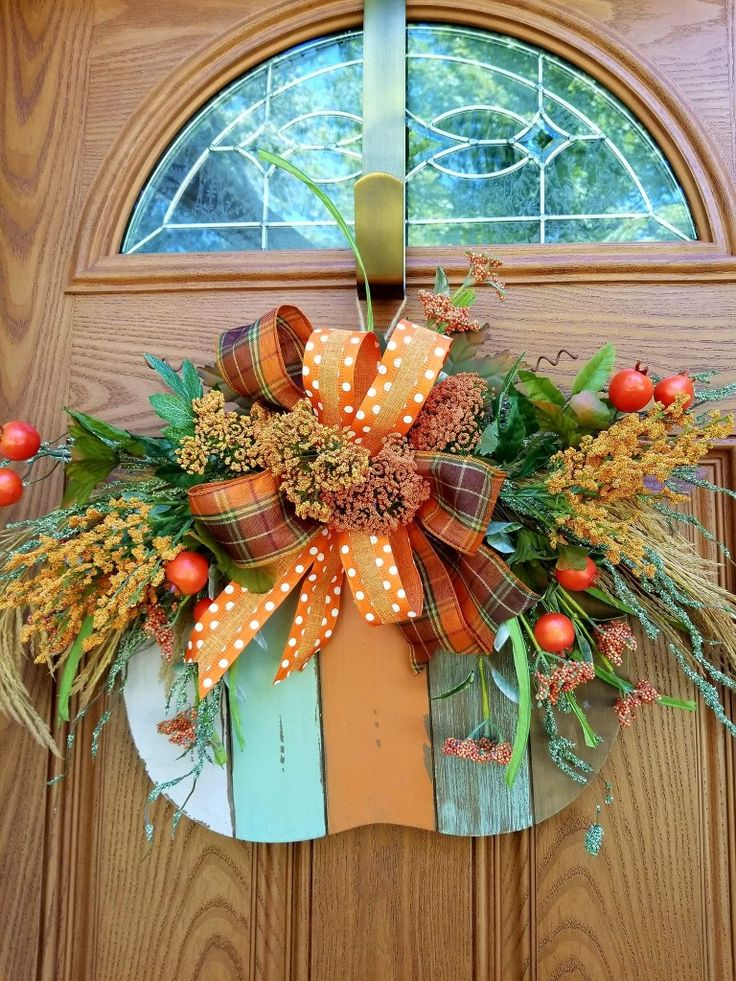 Fall Door HangerThanksgiving DecorFall Thanksgiving Home