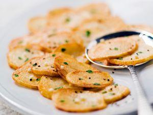 Poêlée  de pommes de terre sarladaises