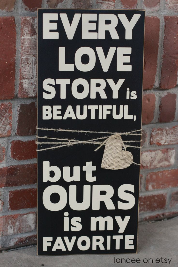 : Wooden Vinyls, Stories Wooden, Cute Quotes, Master Bedrooms, Mi Favorite, Love Sayings, Wedding Quotes, Vinyls Signs, Wedding Gifts