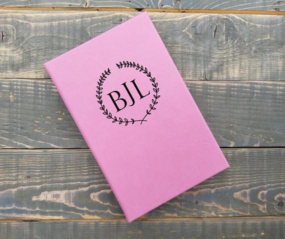 Personalized journals at https://www.etsy.com/listing/575386714/personalized-wedding-planning-writing